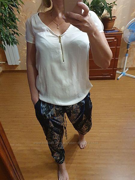 Zara basic xs блузка майка футболка на замочке