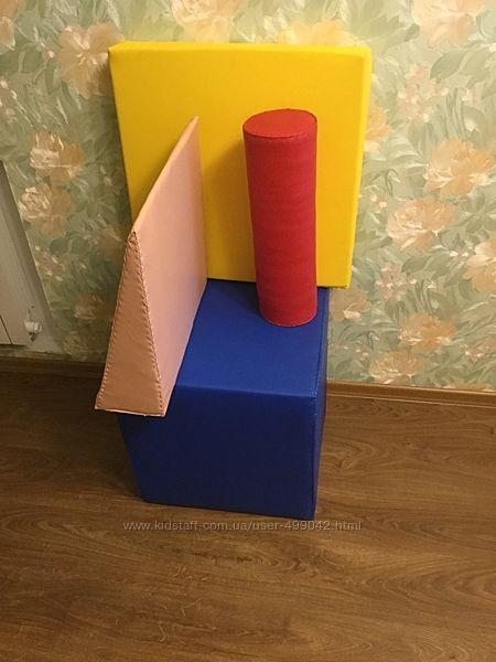 Поролоновые фигуры для занятий с детками с ДЦП.