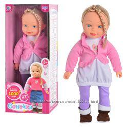 Интерактивная кукла Сонечка, 17 функций