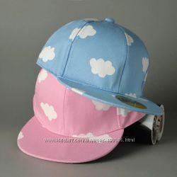 Кепка Облака SnapBack Хип-Хоп кепка с прямым козырьком для подростков