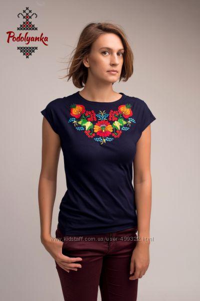 Жіночі вишиванки футболки-кімоно