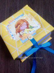 Коробочка Мамины сокровища для девочки - в наличии