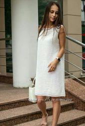 Вязаные стильные платья