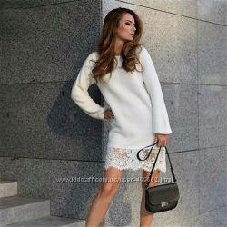 Красивые удобные теплые платья сарафаны полушерсть