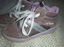 Демисесонные ботинки s. Oliver 29 размер