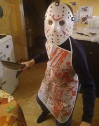 Костюм Мясника Маньяка карнавальный на Хэллоуин.