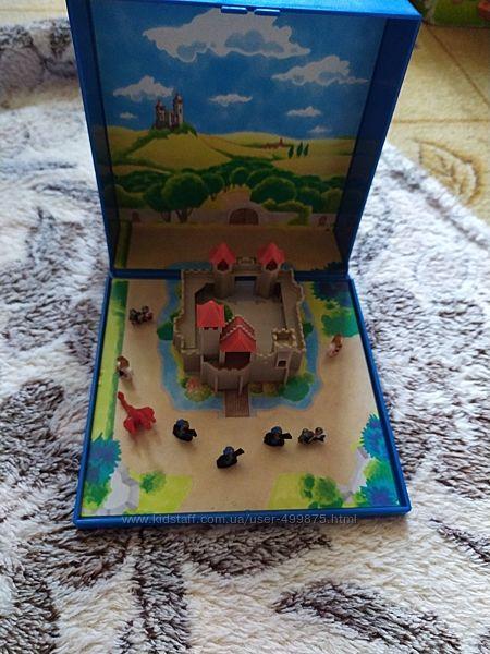 Playmobil мини замок с рыцарями магнитный
