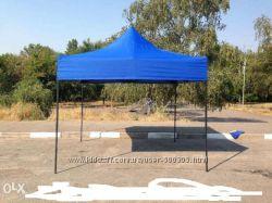 Раздвижной шатер 3х4, 5 м. Тёмный металл. 3 расцветки.