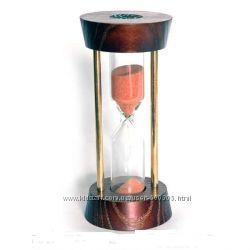 Песочные часы. 3113A62 N7 круглые с метал. стойками 5 минут.
