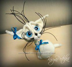 Интерьерная кукла кошка кошечка Лу&769на