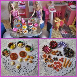 кукольная миниатюра - игрушечная еда для кукол Барби, Лол, Монстер Хай