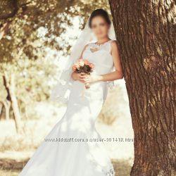 Силуэтное свадебное платье рыбка русалка Чехол в Подарок