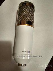 Микрофон студийный MB800. В комплекте со звуковой картой
