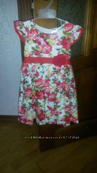Яркое, нарядное американское платье Wandee&acutes, р. 3т, в состоянии новог