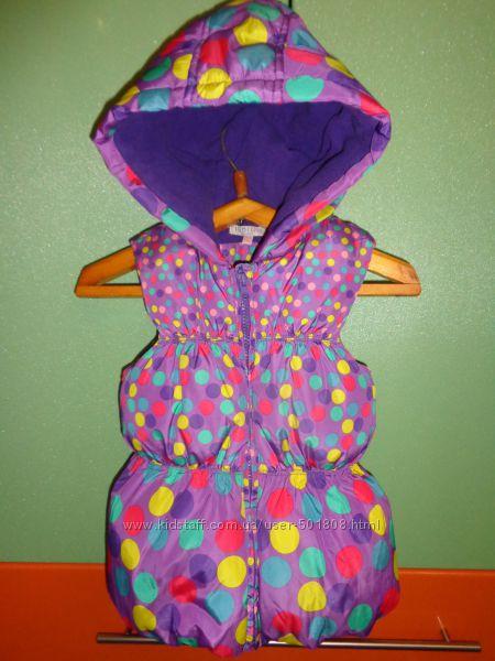 Теплая жилетка M&S на девочку 5-6 лет, 116 см