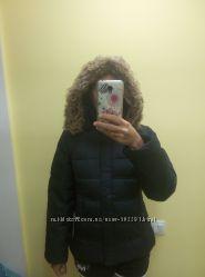 Зимняя куртка, натуральный пуховик Icepeak, оригинал&65281размер 38, на С-М
