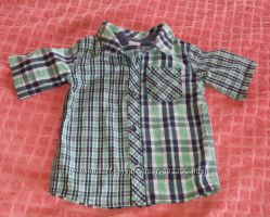 Рубашка - шведка для мальчика, 12-18 мес