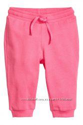 Спортивные штанишки для девочки H&M, р. 6-12 мес