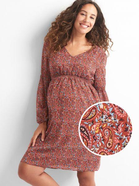 Шикарное платье GAP  для беременных или женщины с животиком, р. L