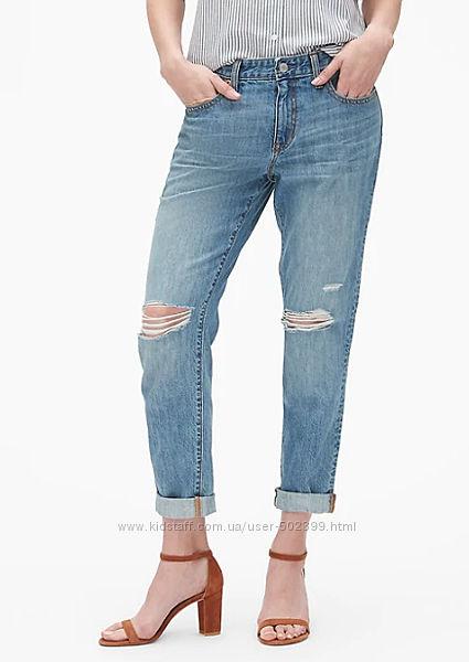 Модные женские джинсы бойфренды GAP, р. 29
