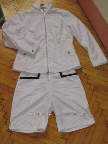Летний спортивный костюм шорты мастерка