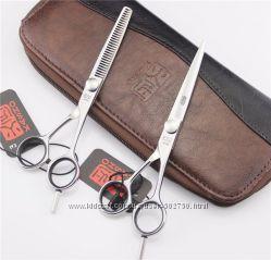 Профессиональные парикмахерские ножницы KASHO 5, 5 и 6, 0