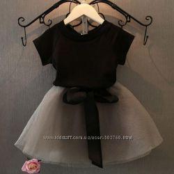 Детский комплект юбка и футболка на 5 лет