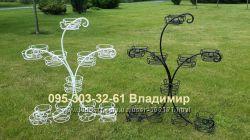 Подставка на подоконник на 20 чаш или колец, подставка для цветов