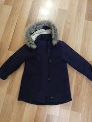Удлинённая куртка полупальто 8 лет