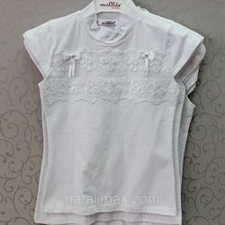 Блузка новая с коротким рукавом