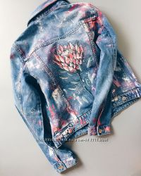 Роспись джинсовок