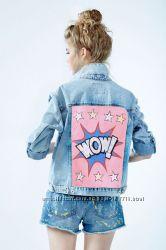 Джинсовые куртки с авторской росписью под заказ