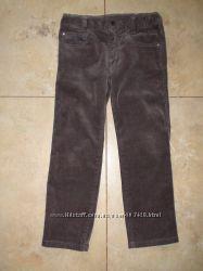 Фирменные вельветовые штаны Geox 104р. одели 2 раза