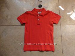 Новое фирменное поло Zara с коротким рукавом, 116р.