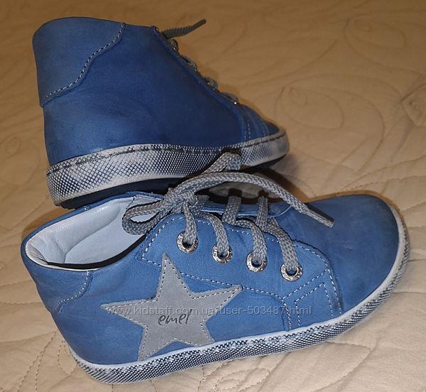 Туфли Emel на мальчика, кожа, р. 25, состояние новых