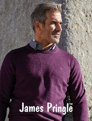 James Pringle. Мужской свитер 100 шерсть.