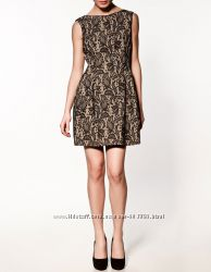 Zara оригинал бандажное платье