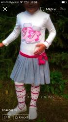 Artigli  girl  5 лет Платье и колготы