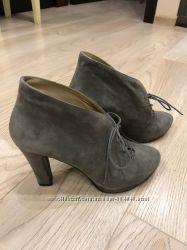 Ботинки замшевые Braska
