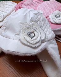 Теплые шапки для девочек DEVIDS STAR и DEMBOHOUSE