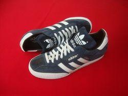 Кроссовки Adidas Samba оригинал натур замша 43-44 размер 28. 5 с
