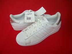Кроссовки Adidas Superstar оригинал натур кожа 40 размер