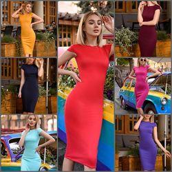 Базовое платье Идеальная посадка Море цветов и вариантов