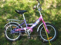 Велосипед  mars для девчушки есть страх. колеса