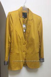 Пиджак горчичный желтый  S 36