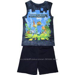 Летние костюмы Ниндзяго, Майнкрафт, футболки