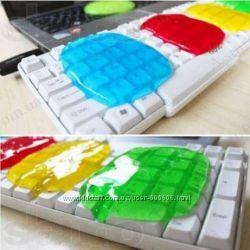 Липучка-очиститель для клавиатуры, пультов и других труднодоступных мест
