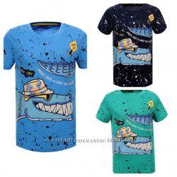 Яркие футболки для мальчиков Glo-story, 98-128 рр