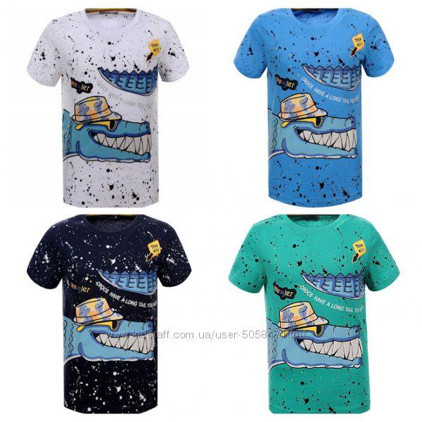 Яркие футболки для мальчиков Glo-story, 98, 116, 122рр