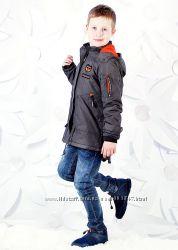 Куртка-парка на синтепоне для мальчиков 116-146 рр. Grace